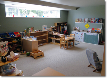 North Vancouver Daycare interior
